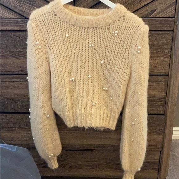 100% Cashmere Le Fou Aritzia sweater